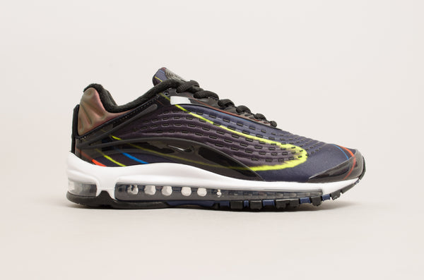Nike Air Max Deluxe ( Black / Midnight Navy / Yellow / White ) AJ7831-001