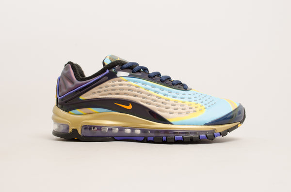 Nike Air Max Deluxe ( Midnight Navy / Laser Orange / Gold ) AQ1272-400