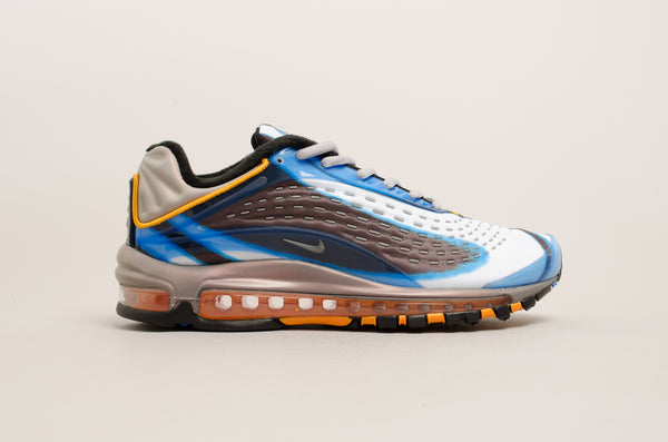 Nike Air Max Deluxe ( Photo Blue / Wolf Grey / Orange Peel / Black ) AJ7831-401