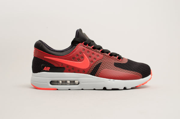 Nike Air Max Zero Essential Black Red Crimson 876070-007