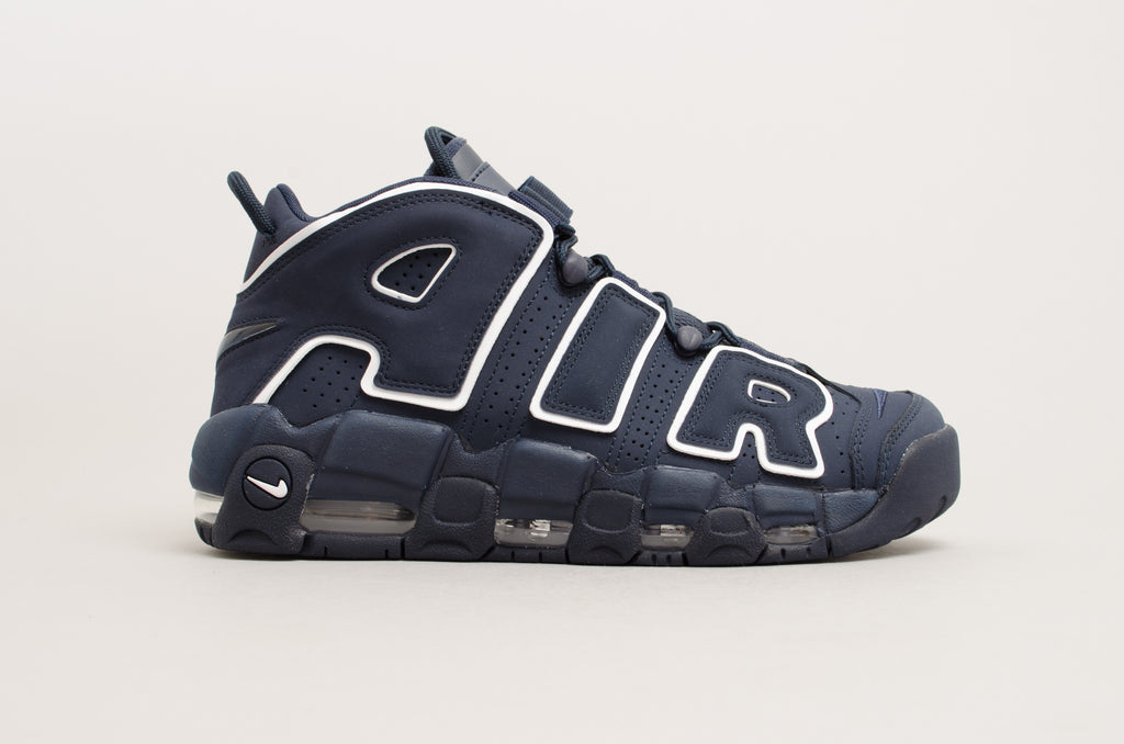 Nike Air More Uptempo '96 Obsidian/White 921948-400