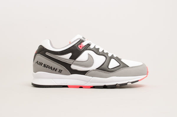 Nike Air Span II ( Black / Dust - Solar Red - White ) AH8047-005
