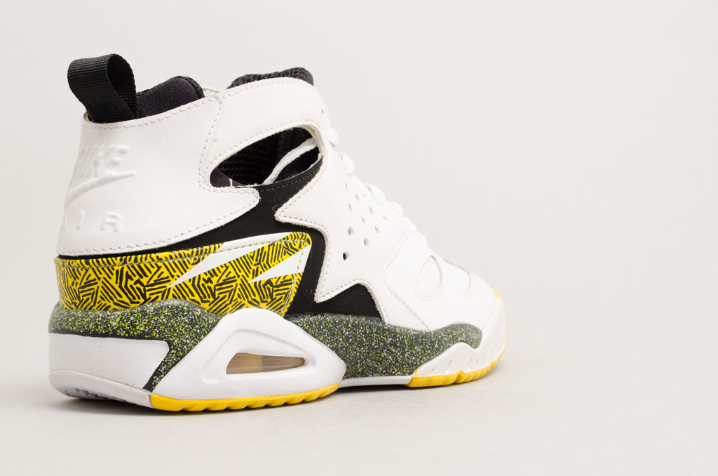 Nike Air Tech Challenge Huarache Agassi White Tour Yellow 630957-100