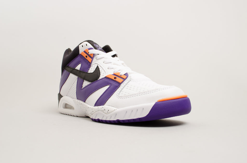 Nike Air Tech Challenge III Agassi White Purple 749957-102