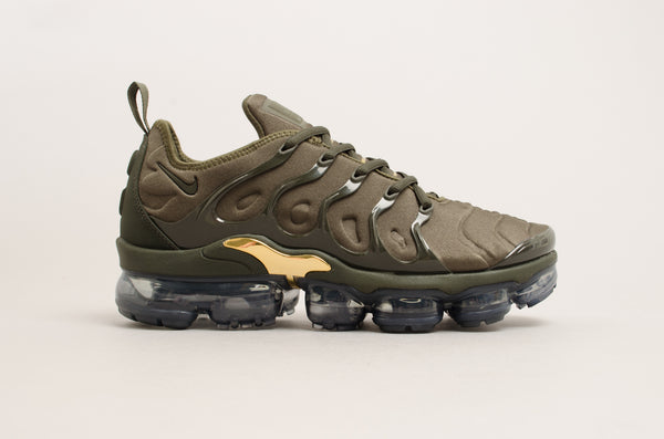 Nike Air Vapormax Plus Cargo Khaki/Gold 924453-004