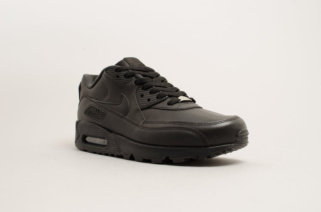 Nike Air Max 90 Leather Black 302519-001