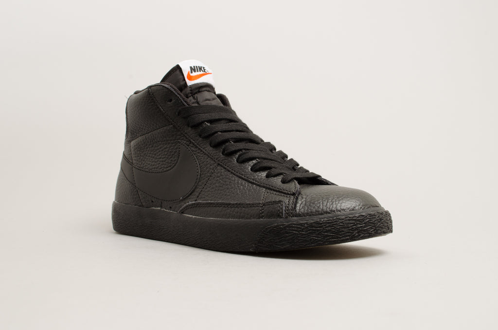 best service 42681 a8513 ... discount code for nike blazer mid prm black 429988 007 daee3 4fb92