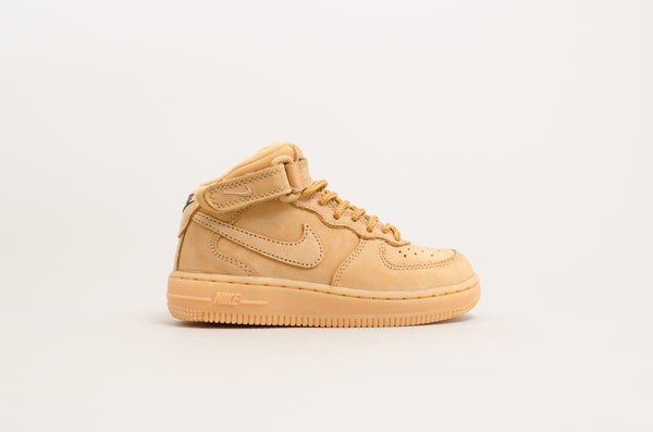 Nike Force 1 Mid WB (PS) Flax AH0756-203