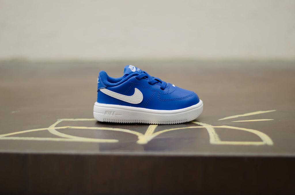 sale retailer 8dff6 b5899 ... Nike Force 1  18 (TD) Game Royal Blue   White 905220-400