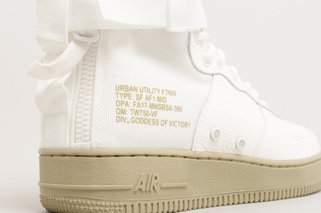 Nike SF Air Force 1 Mid Ivory White 917753-101