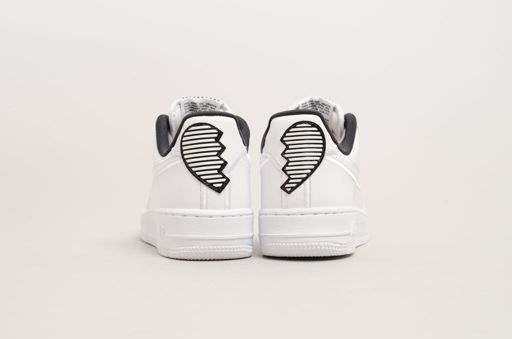 Nike Women's Air Force 1 '07 Special Edition Luxe White/Black AJ0867-100