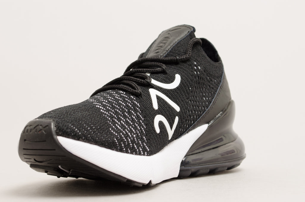 Nike Women's Air Max 270 Flyknit Black / White AH6803-001