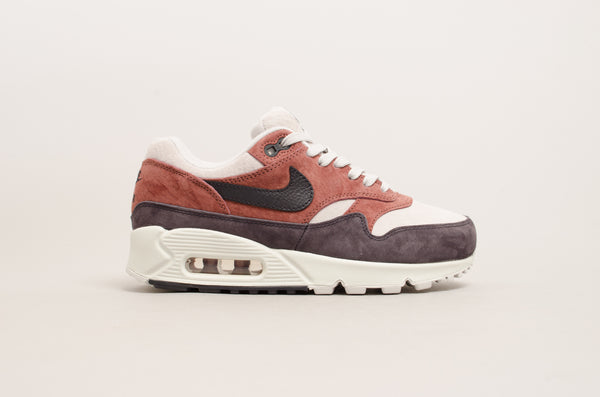 Nike Women's Air Max 90/1 ( Red Sepia / Oil Grey ) AQ1273-200