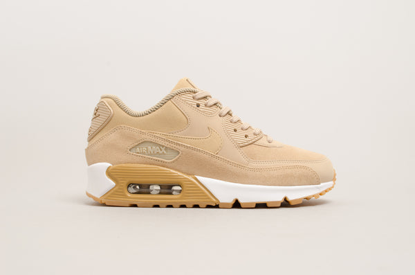 Nike Women's Air Max 90 Special Edition Mushroom/White/Gum 881105-200