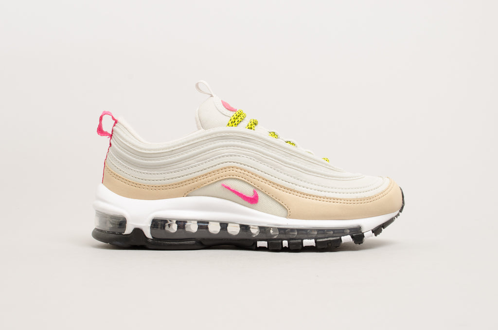 Nike Women's Air Max 97 Essential White,Pink | BV1982 100