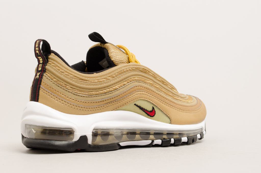 Nike Women's Air Max 97 OG QS ( Metallic Gold ) 885691-700