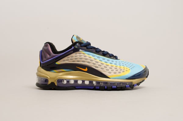 Nike Women's Air Max Deluxe ( Midnight Navy / Laser Orange / Gold ) AQ1272-400