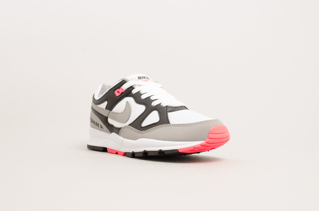 Nike Women's Air Span II ( Black / Dust - Solar Red - White ) AH6800-003