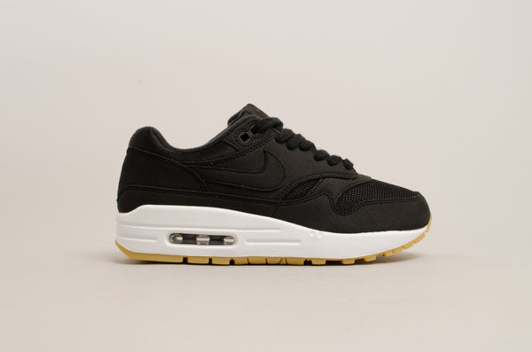 Nike Women's Air Max 1 ( Black / White / Gum ) 319986-037