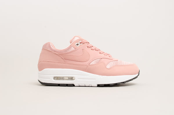 Nike Women's Air Max 1 Special Edition rust pink / white 881101-600