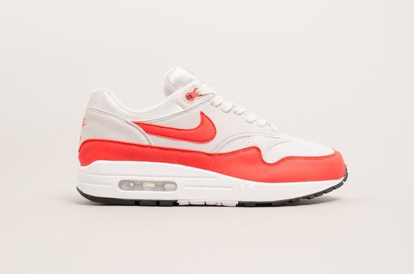 Nike Women's Air Max 1 Vast Grey / Habanero Red 319986-035