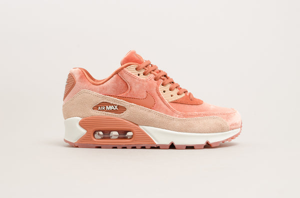 "Nike Women's Air Max 90 Luxe ""Velvet Pack"" Dusty Peach 898512-201"