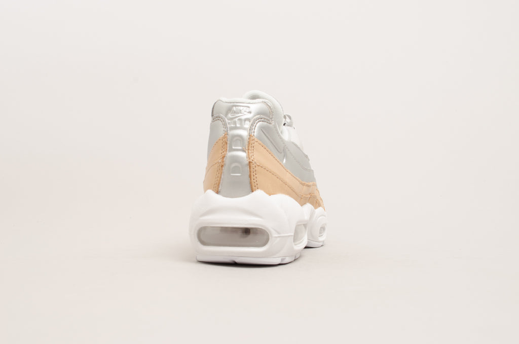 separation shoes 73412 e1c4f ... Nike Women s Air Max 95 Special Edition Premium ( Bio Beige   Silver )  AH8697- ...