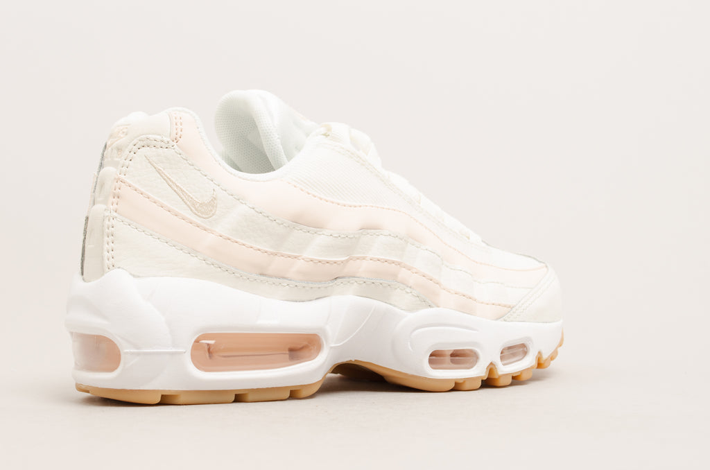 quality design ce9a1 1e2c6 ... Nike Women s Air Max 95 ( Sail   Guava Ice ) 307960-111 ...