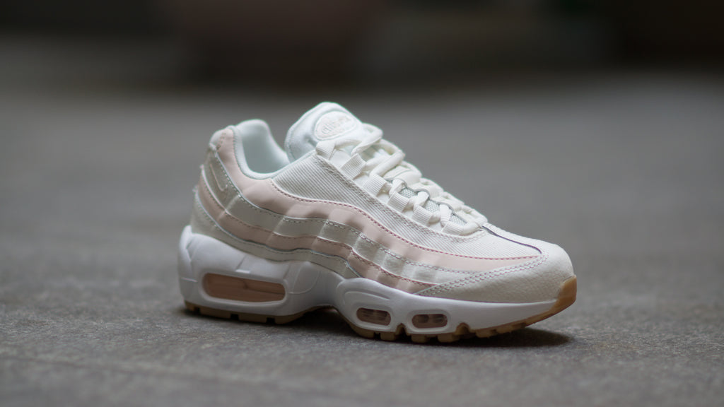 big sale b3d61 48e4b ... Nike Women s Air Max 95 ( Sail   Guava Ice ) 307960-111