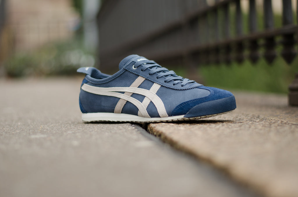 onitsuka tiger mexico 66 dark blue vaporous grey vs