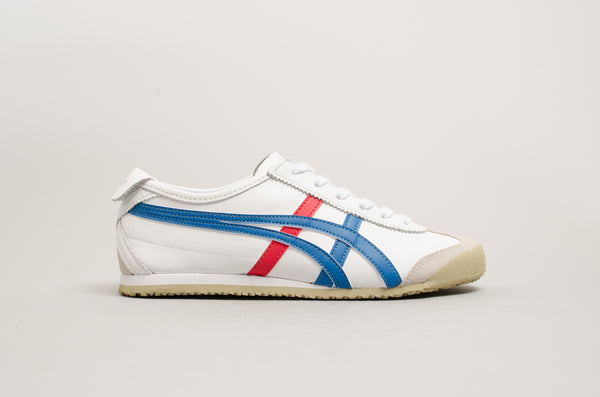 Onitsuka Tiger Mexico 66 White Blue Red DL408-0146