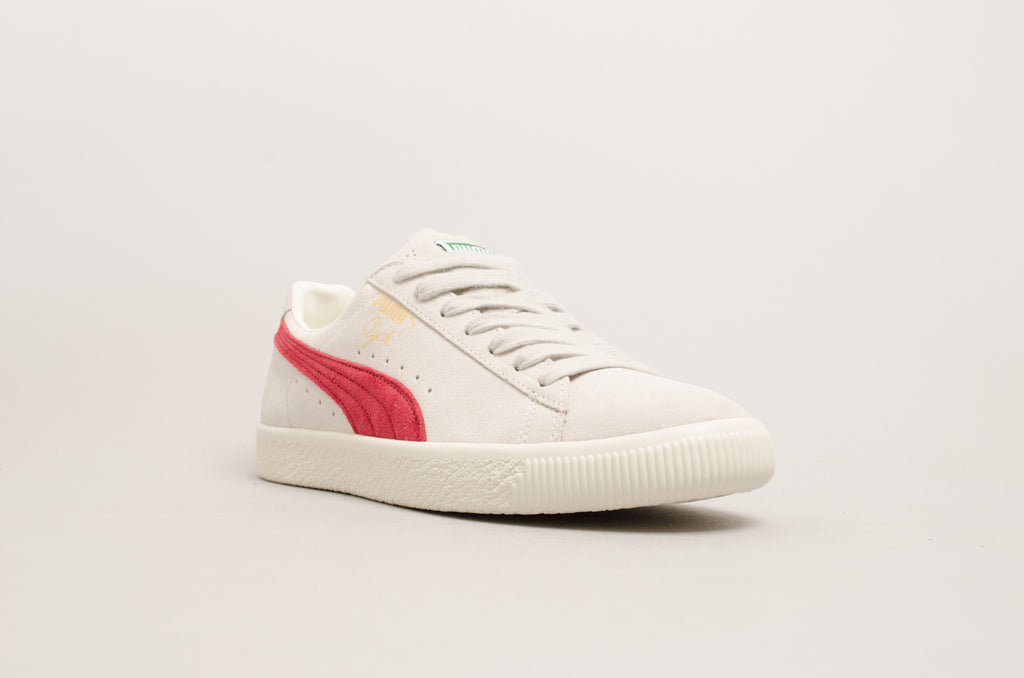 Puma Clyde From The Archive Grey/Burgundy 365319-01