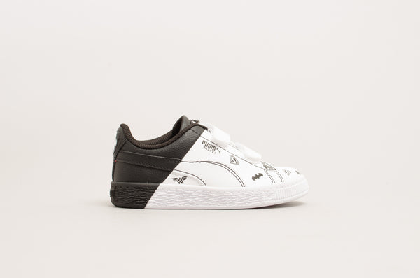 Puma Justice League Basket V PS White/Black 365148-01