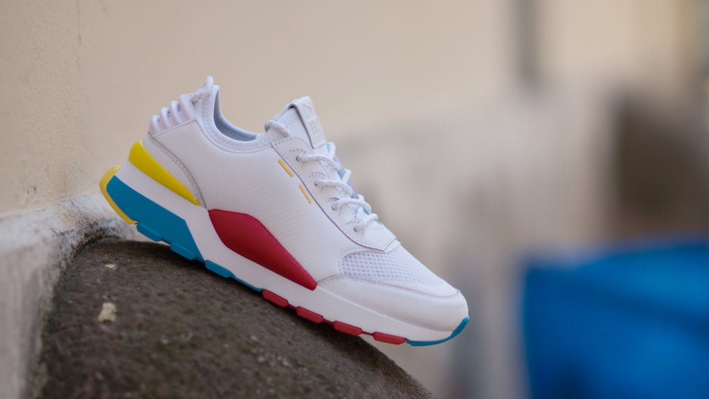 Puma RS-0 Play ( White / Red / Blue / Yellow ) 367515-01
