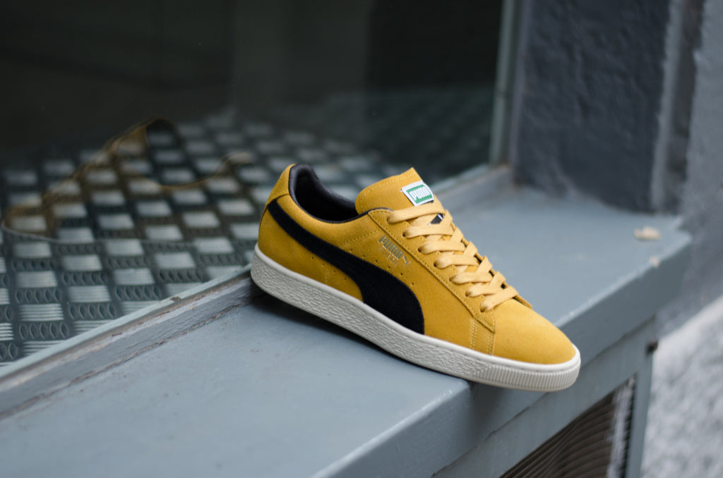 puma suede archive yellow