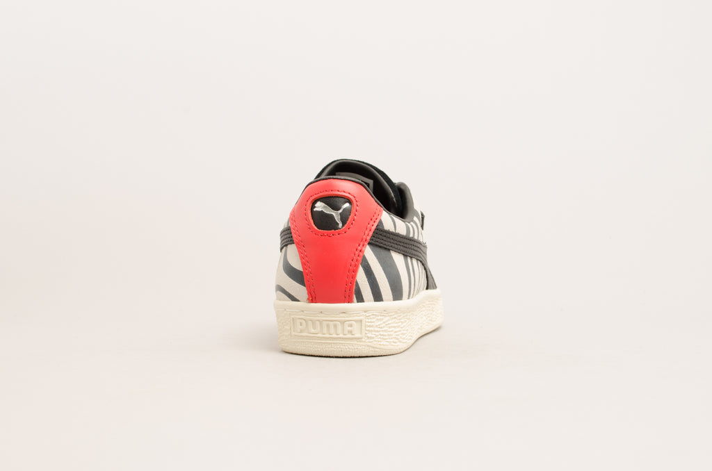 Puma Suede Classic x Paul Stanley ( Black / White / Red ) 366288-01