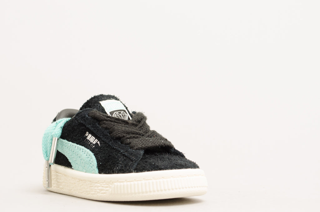 Puma Suede Diamond Inf Black/Diamond Blue 365712-01