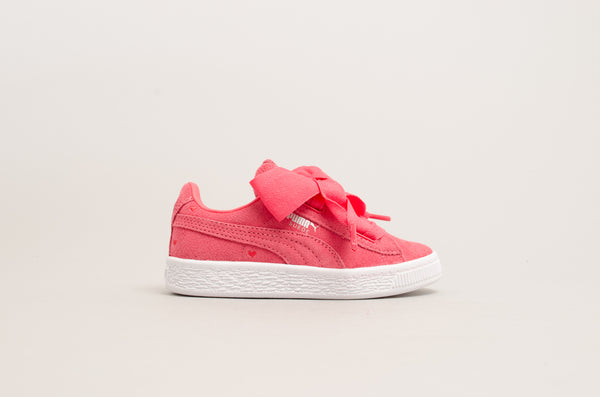 Puma Suede Heart Valentine PS Paradise Pink/White 365136-01