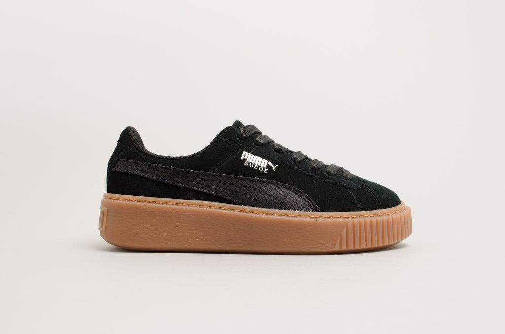 d1fda648efeb Puma Suede Platform Animal Black 365109-01 ...