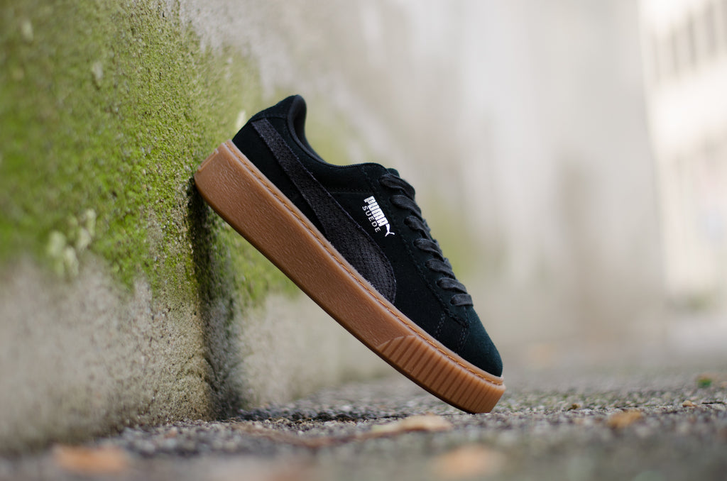 Puma Suede Platform Animal Black 365109-01