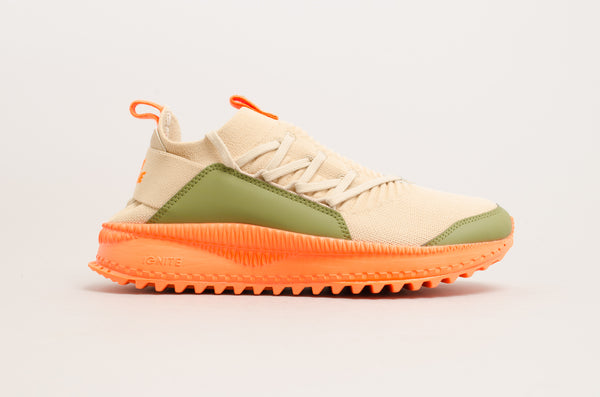 Puma Tsugi Jun x Atelier New Regime ( Beige / Olive Green / Orange ) 367701-01