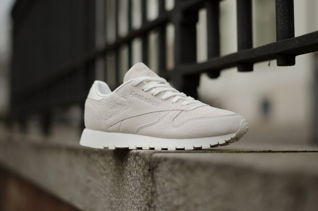 Reebok Classic Leather Nubuck Chalk CM8765
