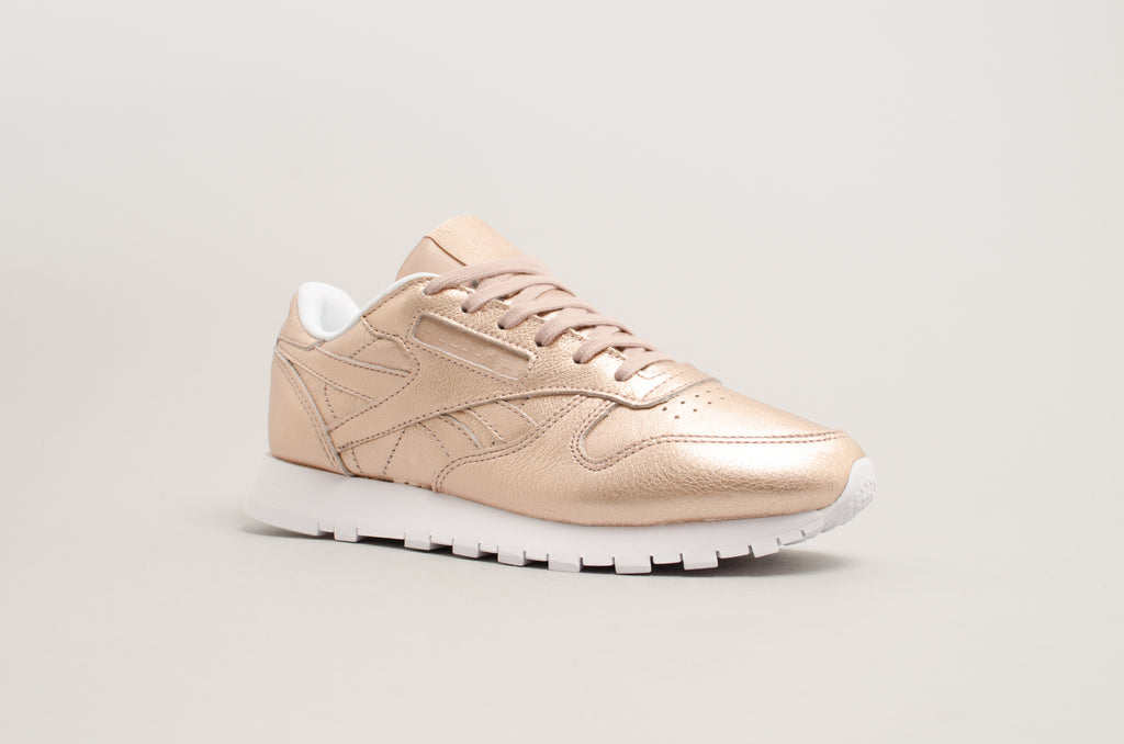 Reebok Classic Melted Metal Pearl Met Peach Rose Gold BS7897
