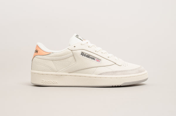 Reebok Club C 85 FT ( Chalk / Sunbaked Orange ) BS9749