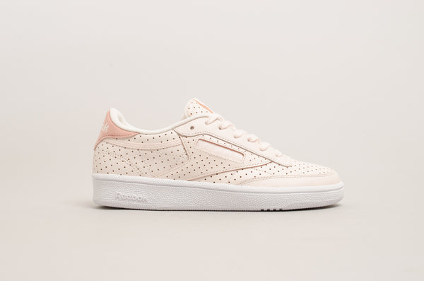 Reebok Club C 85 Popped Perforated ( Pale Pink ) CM9279