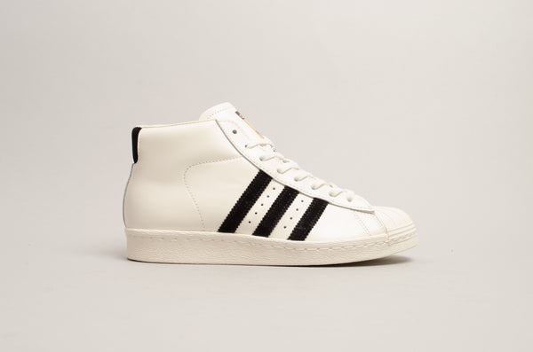 Sevensneakerstore.com Adidas Pro Model Vintage Deluxe (Off White / Core Black) B3524