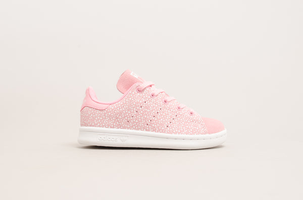 Sevensneakerstore.com Adidas Stan Smith C ( Light Pink / White ) F34168