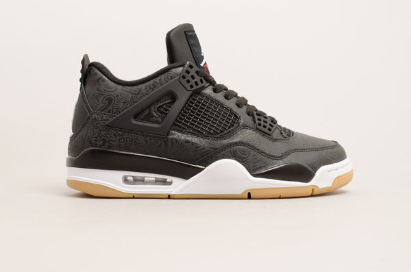 Sevensneakerstore.com Air Jordan 4 Retro Special Edition ( Black / White / Gum Light Brown ) CI1184-001