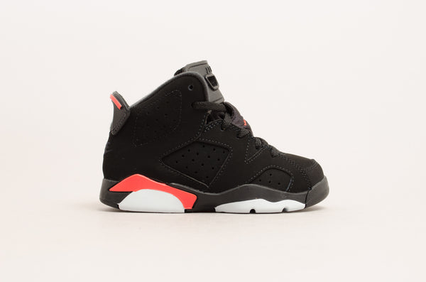 Sevensneakerstore.com Air Jordan 6 Retro ( PS ) Black / Infrared 384666-060