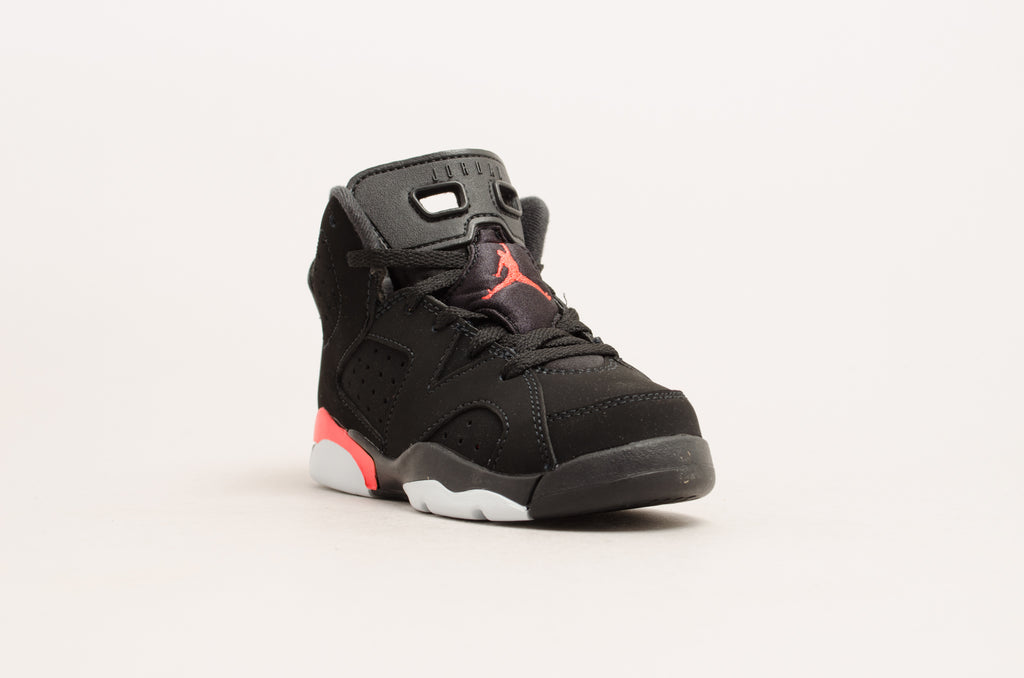 631131c2478dd7 ... Sevensneakerstore.com Air Jordan 6 Retro ( PS ) Black   Infrared  384666-060 ...